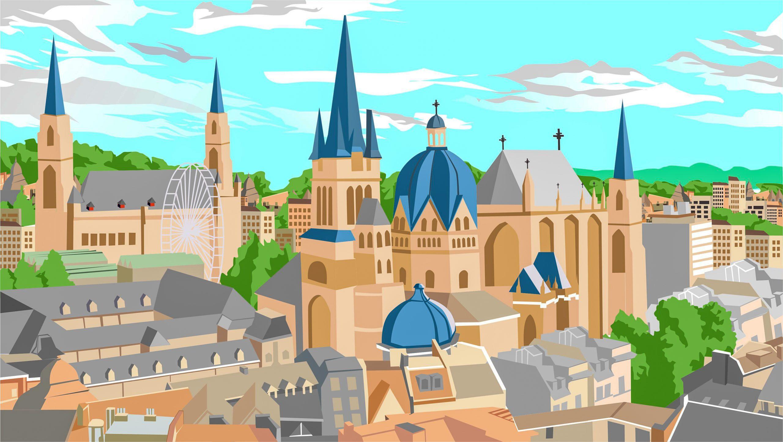 Pop-Up in Aachen eröffnen