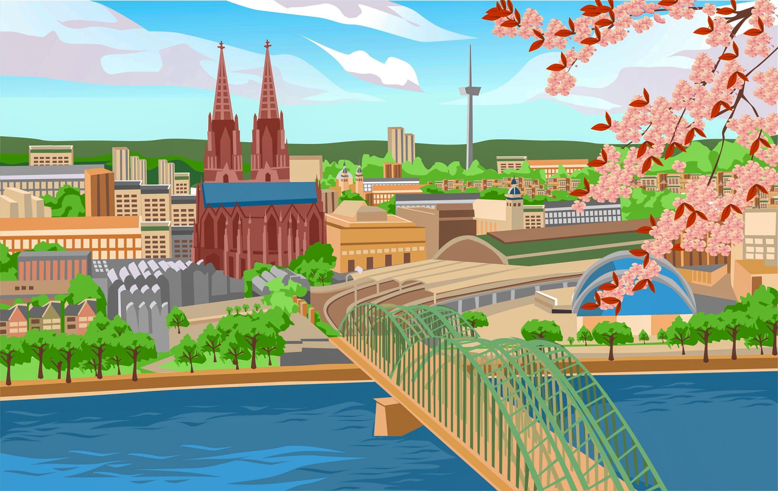 Pop-Up in Köln
